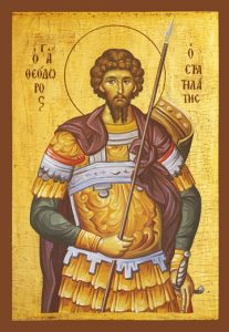 Icon of St. Theodore Stratelates – S179