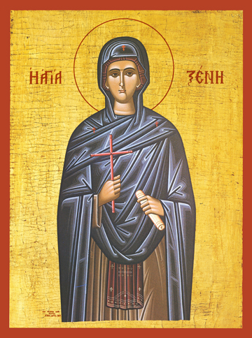 Icon of St. Xenia of Rome – S183