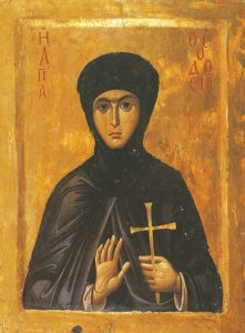 Icon of St. Theodosia – S196