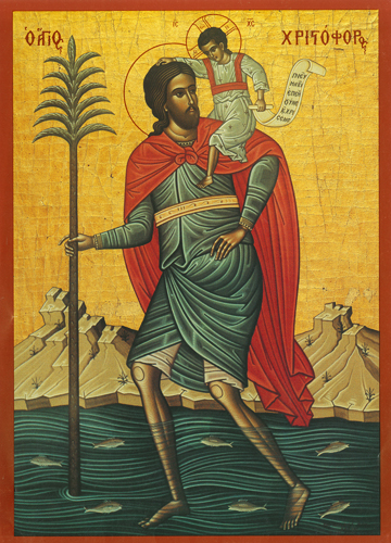 Icon of St. Christopher – S202