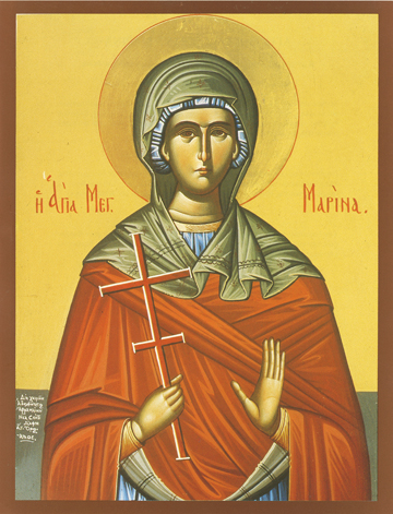 Icon of St. Marina – S215