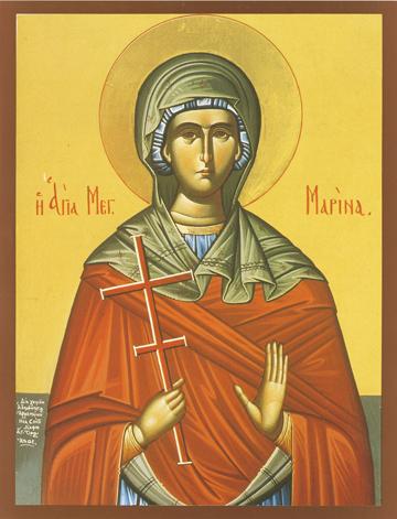 Icon of St. Marina – S215
