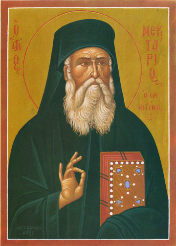 Icon of St. Nectarios – S21