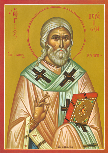 Icon of St. Therapon – S227