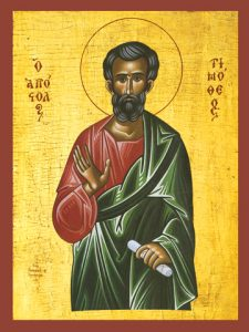 Icon of St. Timothy – S236