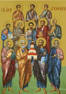 Icon of the Synaxis of the Twelve Apostles – S247