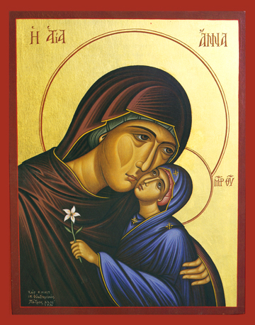 Icon of St. Anna – S248