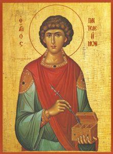 Icon of St. Panteleimon – S24
