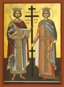 Icon of SS Constantine and Helen – S254