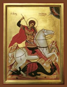 Icon of St. George – S259