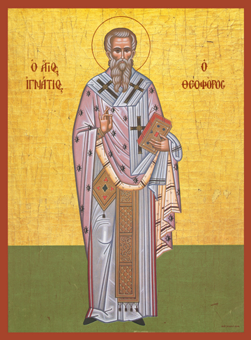 Icon of St. Ignatios of Antioch – S264