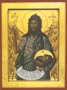 Icon of St. John the Baptist – S270