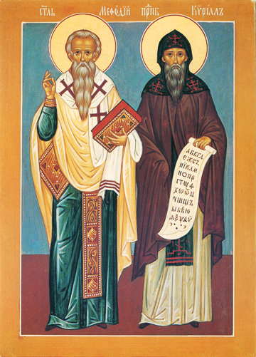 Icon of SS Cyril and Methodios – S284