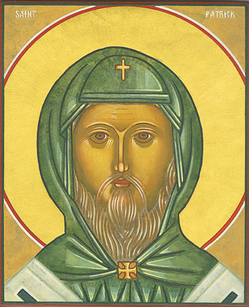 Icon of St. Patrick – S29