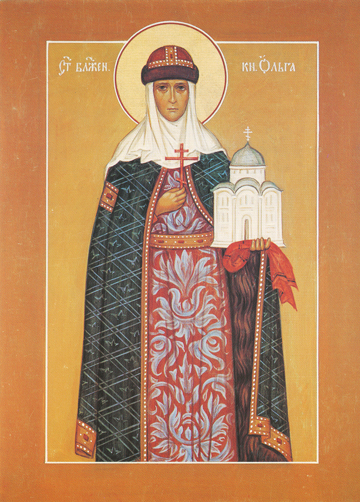 Icon of St. Olga – S307
