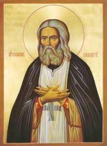 Icon of St. Seraphim of Sarov – S322