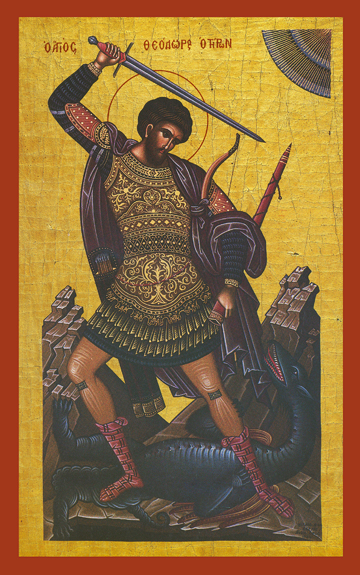Icon of St. Theodore Tyros – S329