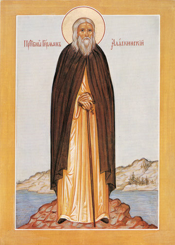 Icon of St. Herman – S338