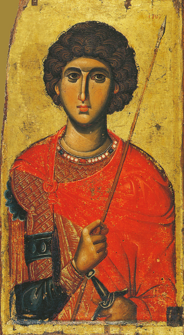 Icon of St. George – S347