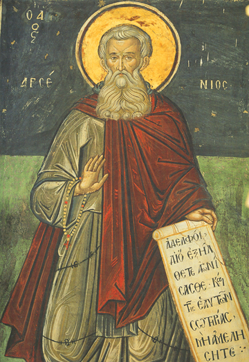 Icon of St. Arsenios the Great – S357