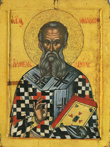 Icon of St. Athanasios the Great – S359