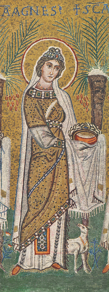 Icon of St. Agnes (Mosaic) – S369