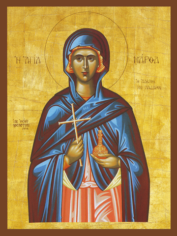 Icon of St. Martha – S385