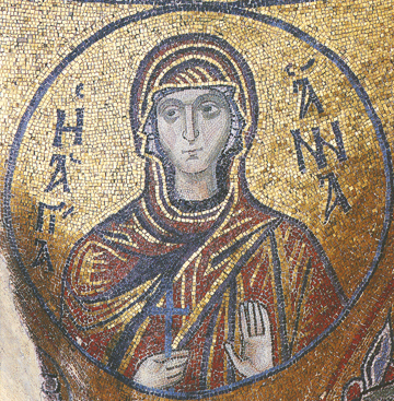 Icon of St. Anna (Mosaic) – S388