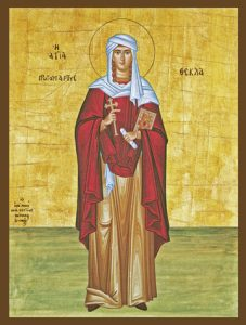 Icon of St. Thecla – S401