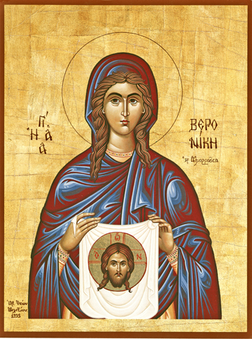 Icon of St. Veronica – S407