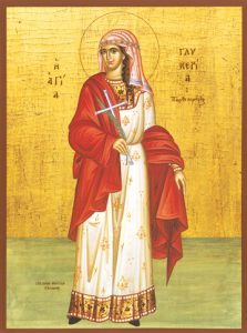 Icon of St. Glykeria – S417