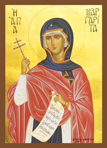 Icon of St. Margaret – S422