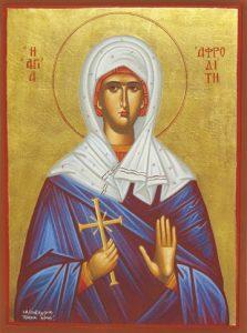 Icon of St. Aphrodite – S425
