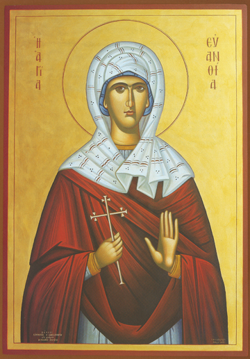 Icon of St. Evanthia – S428