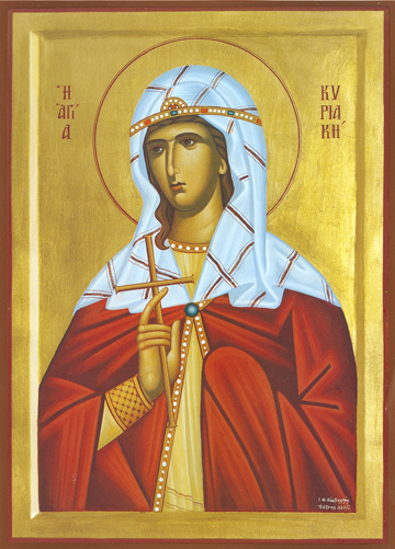 Icon of St. Kyriaki – S432