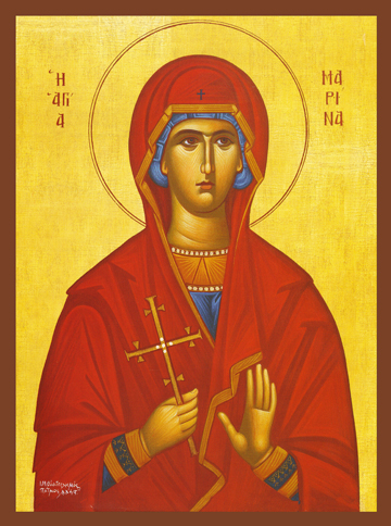 Icon of St. Marina – S433