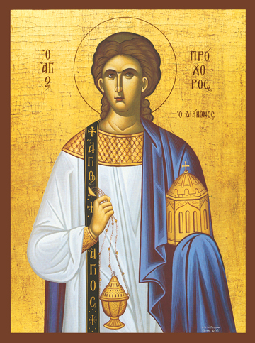 Icon of St. Prochoros the Deacon – S435
