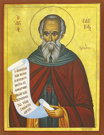 Icon of St. Sabbas – S437