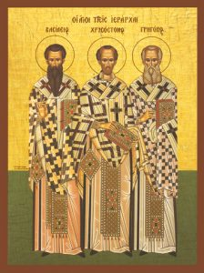 Three Holy Hierarchs – S56