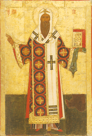Icon of St. Alexis of Moscow - S57