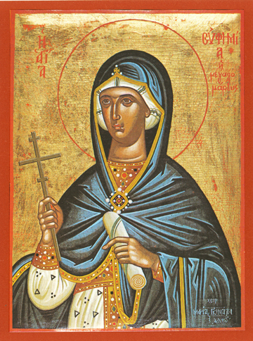 Icon of St. Euphemia – S75