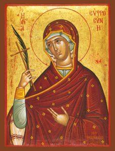 Icon of St. Euphrosyne – S76