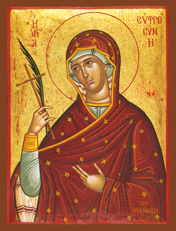 Icon of St. Euphrosyne – S76