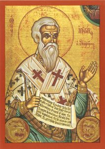 Icon of St. Ignatios of Antioch – S77