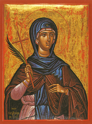 Icon of St. Matrona – S81