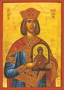Icon of St. Theodora – S90