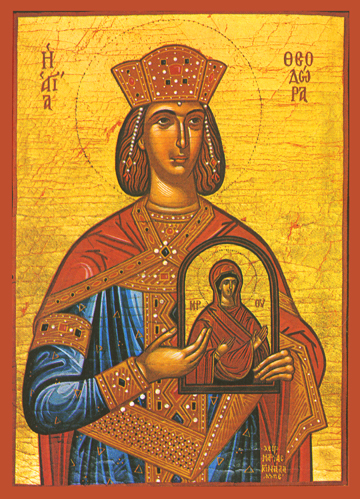 Icon of St. Theodora – S90