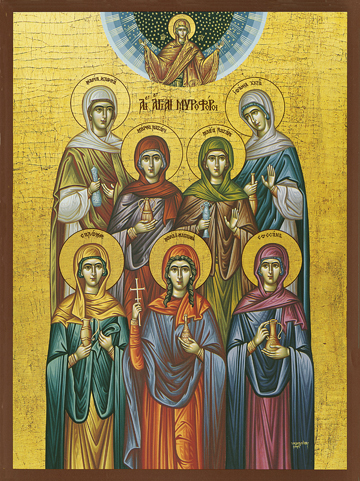 Icon of the Holy Myrrh-Bearers – S97