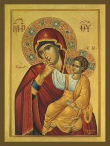 """Icon of the Panagia """"Paramythia"""" – T112"""