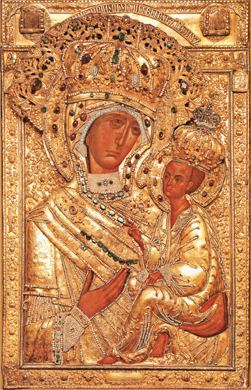 Icon of the Theotokos of Tikhvin – T114
